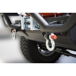 "Rugged Ridge UTV D-Ring Shackles w/ 5/8"" Pin and 6,000LB WLL"