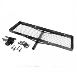 Rugged Ridge Jeep Wrangler TJ, YJ 87-06 Receiver Hitch With Cargo Rack