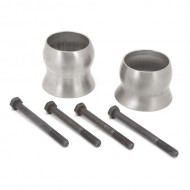 """Rugged Ridge Jeep JK 12-Up Exhaust Spacer Kit For 2.5""""+ Lifts (3.6L)"""