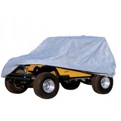 Rugged Ridge Jeep TJ, YJ, CJ7 76-06 Weather Lite Full Jeep Cover