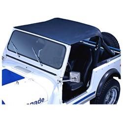 Rugged Ridge Jeep CJ7 76-86 Summer Brief Top (Black)