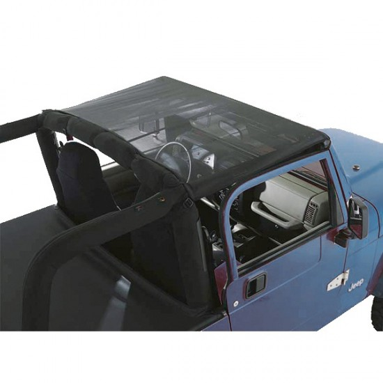 Rugged Ridge Jeep YJ 92-95 Mesh Summer Brief Top