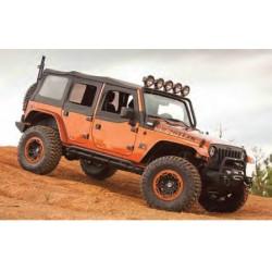 Rugged Ridge Jeep JK 07-09 4-DR Replacement Soft Top w/Tint (Black Diamond)