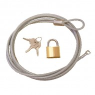 Rugged Ridge Jeep Cover Lock and Cable