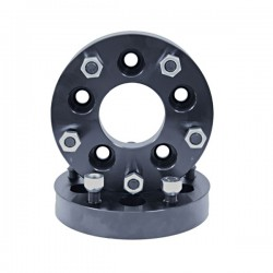 "Rugged Ridge Wheel Spacer Adapters 1.25"" 5 on 4.5 to 5 on 5.5"