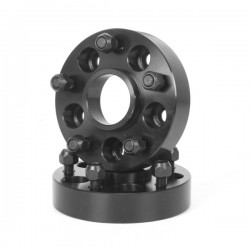 "Rugged Ridge Wheel Spacer Adapter 1.375"" Convert 5 on 4.5 to 5 on 5"