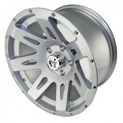 "Rugged Ridge Aluminum Wheel Silver 17"" x 9"" 4.625"" BS 5 on 5"
