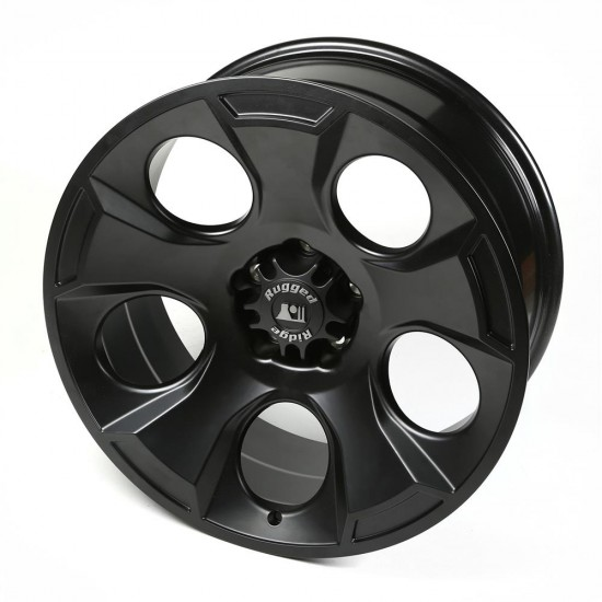 "Rugged Ridge Drakon Black Satin Alloy Wheel 20"" x 9"""