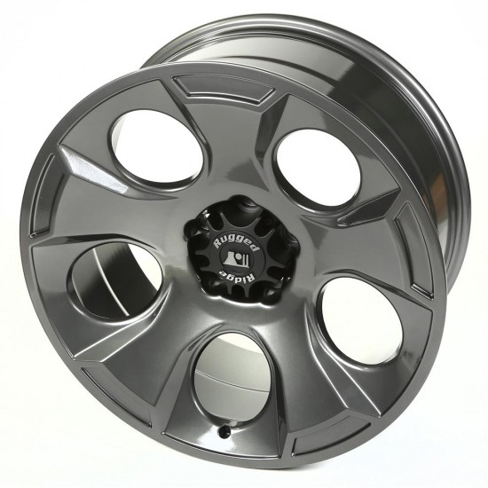"Rugged Ridge Drakon Gun Metal Alloy Wheel 20"" x 9"""