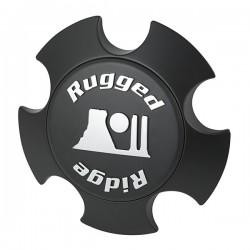 Rugged Ridge XHD Matte Black Modular Wheel Center Cap