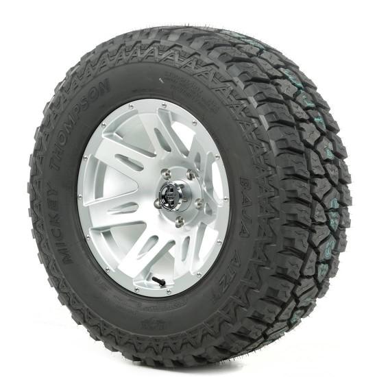 "Rugged Ridge 17"" XHD Silver Wheel w/ 34"" Mickey Thompson ATZ Tire"