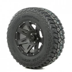 "Rugged Ridge 17"" XHD Black Satin Wheel w/ 305/65R17 Mickey Thompson ATZ Tire"