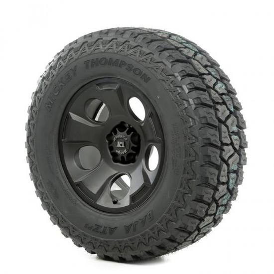"Rugged Ridge 17"" Drakon Black Satin Wheel w/ 305/65R17 Mickey Thompson ATZ Tire"