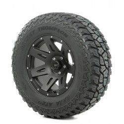 "Rugged Ridge 17"" XHD Black Satin Wheel w/ 315/70R17 Mickey Thompson ATZ Tire"