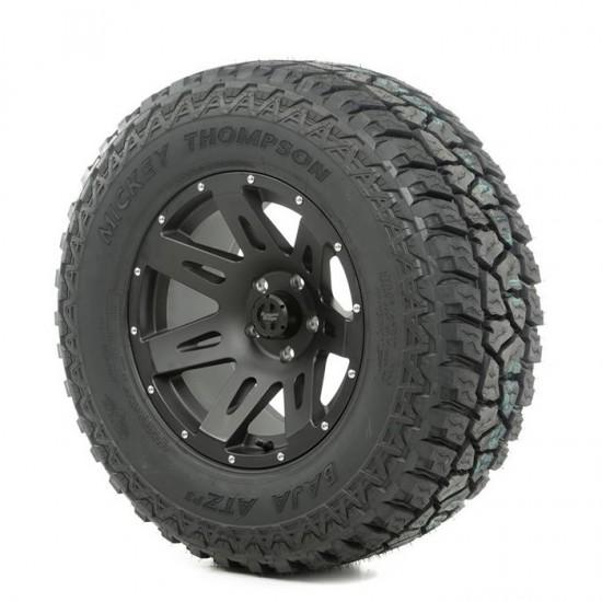 "Rugged Ridge 17"" XHD Black Satin Wheel w/ 315/70R17 Mickey Thompson ATZ Tire"