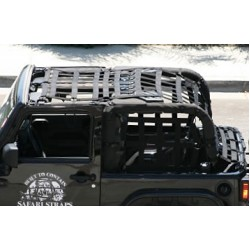 Safari Straps Jeep JK 2DR Warrior Long Cage Set Extended
