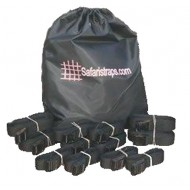 Safari Straps Bag of Tie Downs (2-10ft, 2-8ft, 4-6ft, 4-4ft and Bag)