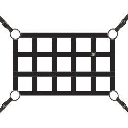 "Safari Straps 2"" Cargo Net 39.5""x24.5"""