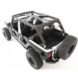 Smittybilt Jeep JK 4DR 07-10 SRC Roll Cage Kit 6-Piece