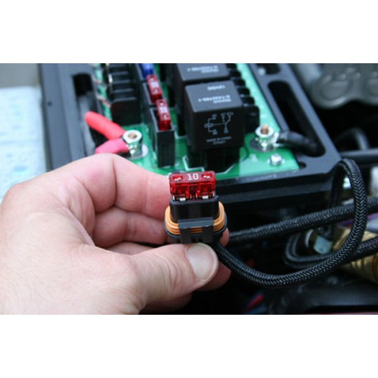 sPOD Jeep JK 6 Switch sPOD with 2-16th Inch Hole