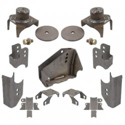 Synergy Jeep JK 07-Up Complete Rear Axle Bracket Kit
