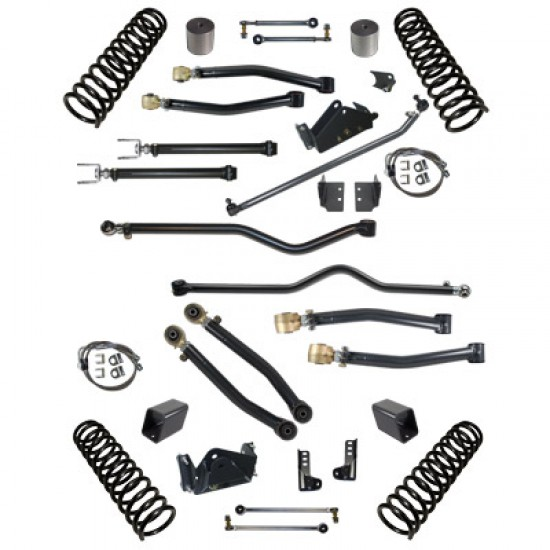 """Synergy Jeep JK 07-Up Stage 3 Suspension System 4""""/4.5"""" Lift"""