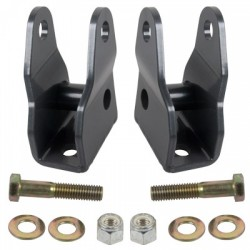 Synergy Jeep JK 07-Up Front Lower Shock Extension Brackets