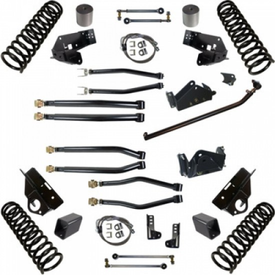 """Synergy Jeep JK 07-Up Stage 4 Long Arm Suspension System 3"""" Lift"""