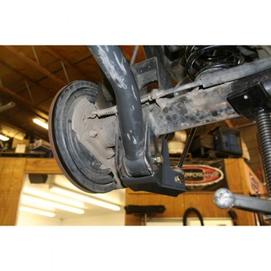 Synergy Jeep JK 07-Up Rear Lower Shock Mount Kit w/Skids