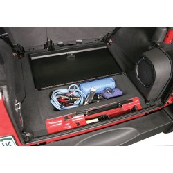 "Tuffy Jeep JK 07-11 Locking Cargo Storage Bin ""Cubby"" Cover"