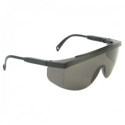 Radians Galaxy Black Frame Smoke Lens Safety Glasses