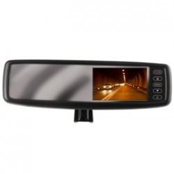 """Crimestopper 4.3"""" Oem Replacement-style Rear View Mirror Monitor"""