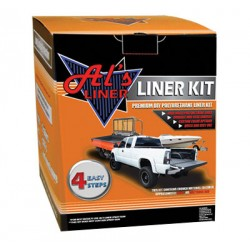 Als Liner 1 Gallon Black Bed Liner Kit