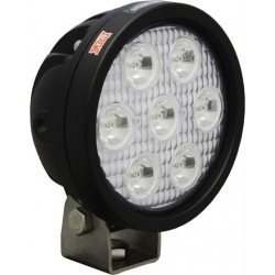 "Vision X 4"" Round Utility Market Xtreme LED Work Light Narrow Beam"