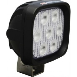 "Vision X 4"" Square Utility Market Xtreme LED Work Light Wide Beam"
