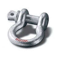 """Warn 3/4"""" D-Ring Shackle with 7/8"""" Pin"""