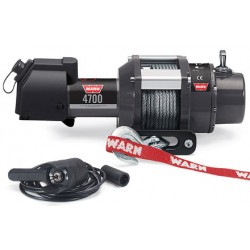 Warn Heavy Puller Winch for Trailers and General Load-Moving 4700 DC