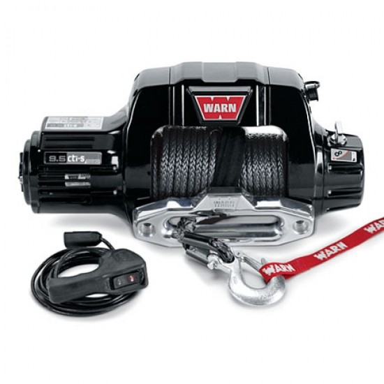 Warn Ultimate Performance Series Winch 9.5cti-s w/ Synthetic Rope