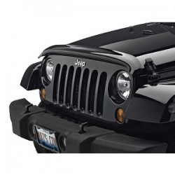 WeatherTech Jeep JK 07-14 Stone and Bug Deflector Dark Smoke